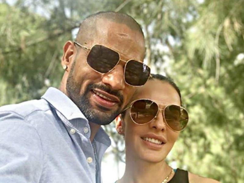 Shikhar Dhawan बने Jitendra, पत्नी आयशा के साथ इस फिल्मी गाने पर किया डांस, देखें Video