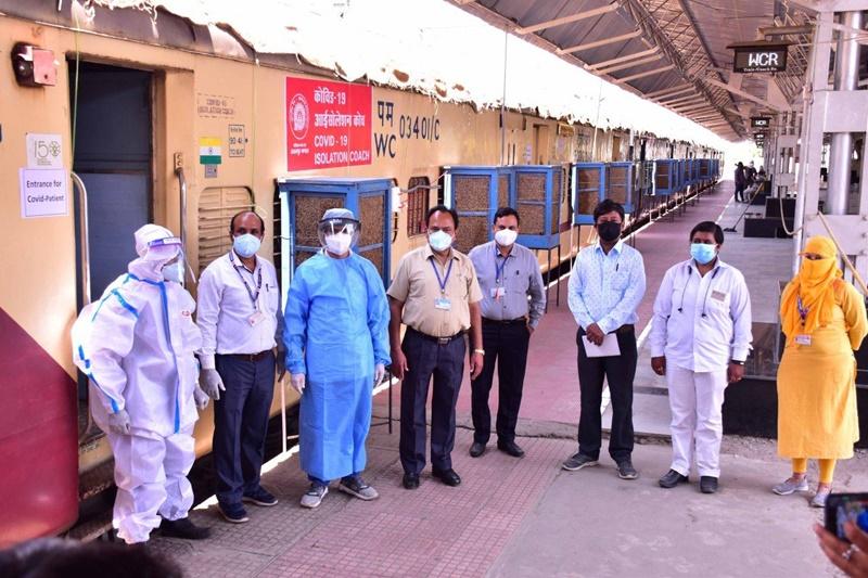 Jabalpur Railway News: आइसोलेशन के लिए अभी पांच कोच ही, जरूरत पड़ी तो और बढ़ाएगा रेलवे