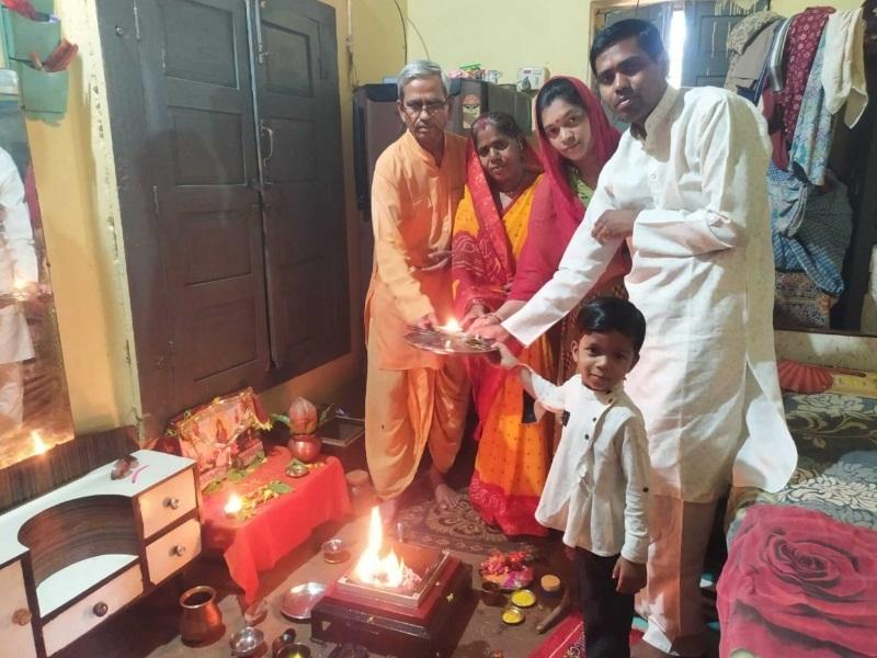Corona Virus In Chhattisgarh: कोरोना वायरस का नाश करने गायत्री परिवारों में हुए यज्ञ