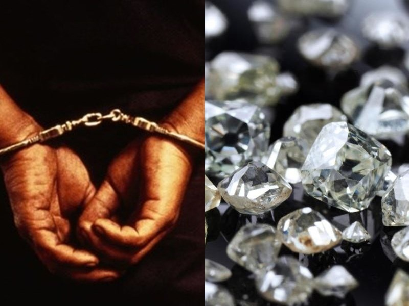 Diamond Smuggling In Chhattisgarh: छत्तीसगढ़ में 440 हीरा बरामद, दो तस्कर हिरासत में