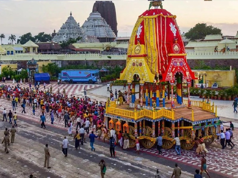Jagannath Puri Rath Yatra Rath Yatra taken out on 12th July only then the  temple will be repaired