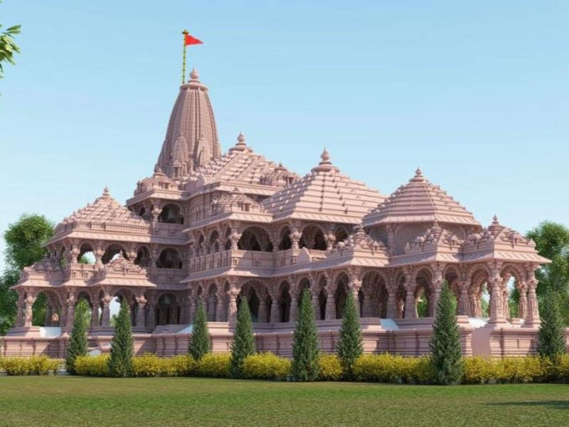 Ram Mandir Bhoomi Pujan : साढ़े तीन साल में बनेगा मंदिर, बनने के बाद ऐसा दिखेगा, देखें PHOTO
