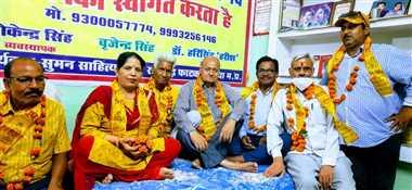 दतियाः डॉ. हरिसिंह हरीश की स्मृति में आयोजित काव्य गोष्ठी संपन्ना