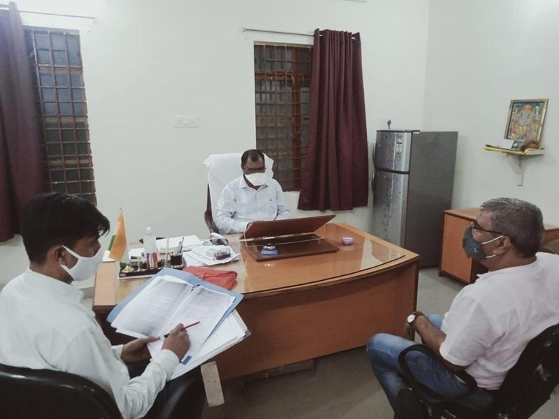 Anuppur News: खरीदी टेंडर मामले में ईओडब्ल्यू ने स्वास्थ्य विभाग में मारा छापा