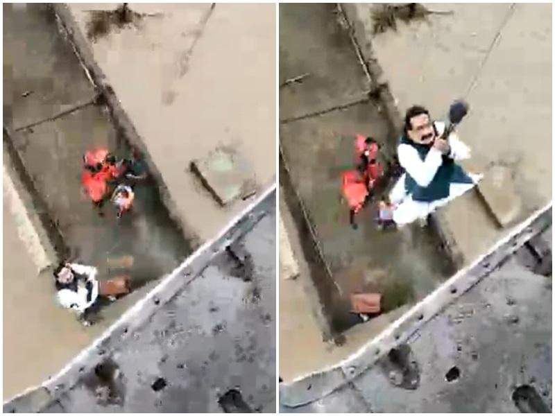 Flood in Gwalior Chambal Zone: बाढ़ में फंसे लोगों को सुरक्षित निकालकर एयरलिफ्ट हुए गृहमंत्री डॉ नरोत्तम मिश्रा, देखिये वीडियो