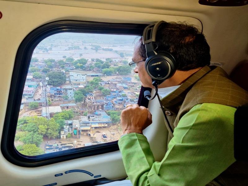 Flood in Gwalior Chambal Zone: श्योपुर-शिवपुरी में हालात सुधर रहे, भिंड-मुरैना के लिए और सेना बुलाएंगे- सीएम शिवराज