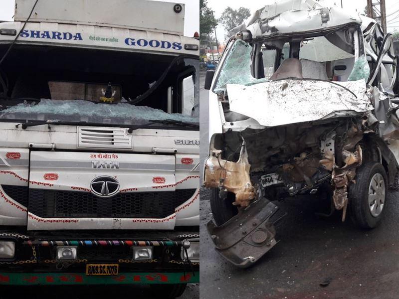 Ujjain Road Accident: उज्जैन-जावरा स्टेट हाईवे पर खड़े ट्राले से टकराई कार, 4 लोगों की मौत
