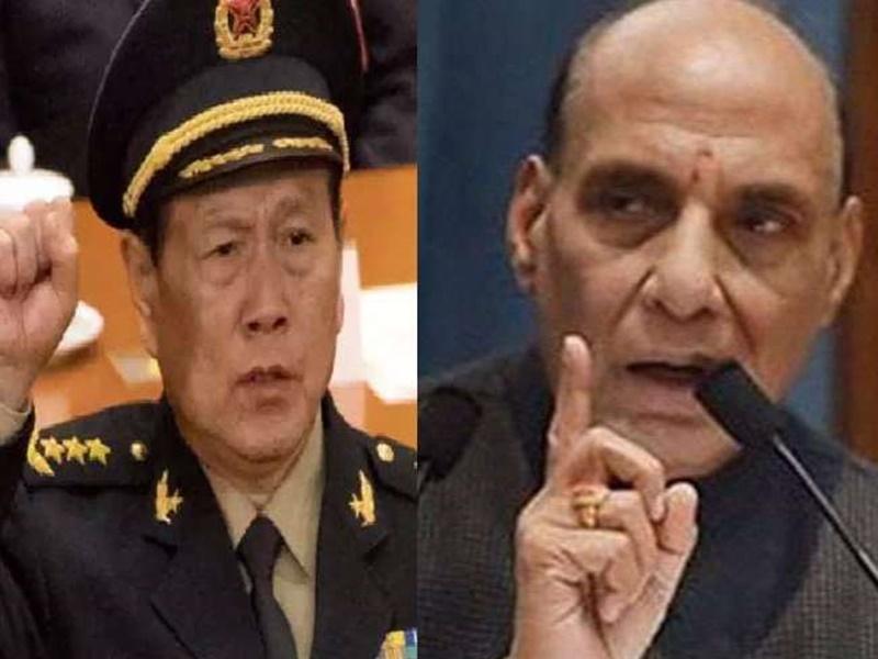 LAC standoff: चीनी रक्षा मंत्री ने जताई राजनाथ सिंह से मुलाकात की इच्छा