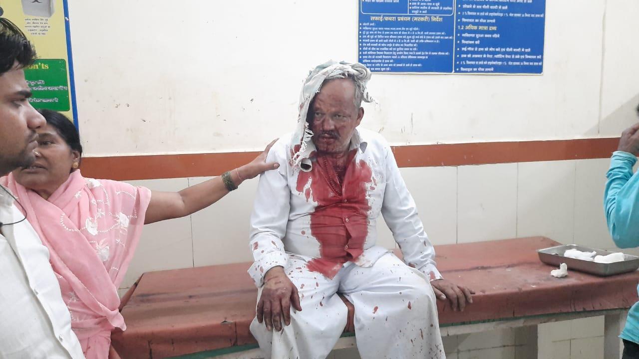 मुरैना में सराफा व्यापारी पर हमला कर नगदी व गहने से भरा बैग लूटा