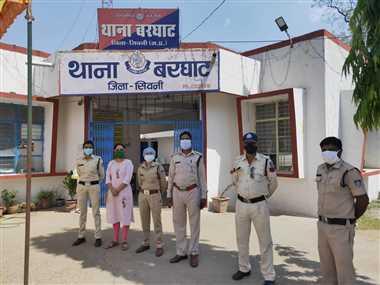 सैंपू लेने गई तीन नाबालिग हुई थी लापता, पांच घंटे में बरघाट पुलिस ने ढूंढ निकाला