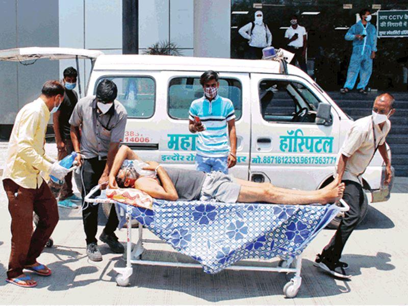 इंदौर जिले की बांक पंचायत में कोरोना से 12 में से 8 की मौत, बीमारी छिपा रहे लोग
