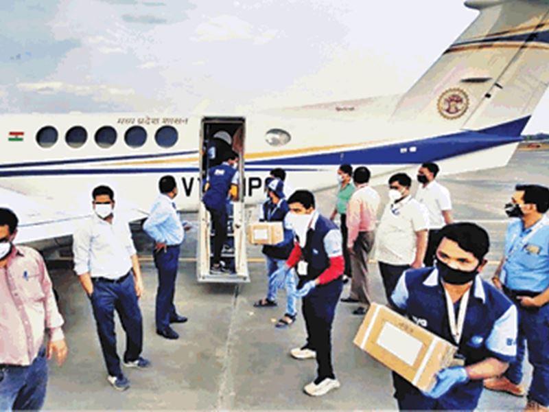 Remdesivir Injection in Indore: जबलपुर से इंदौर आए 1824 रेमडेसिविर, लगातार दूसरे दिन मिली इंजेक्शन की खेप