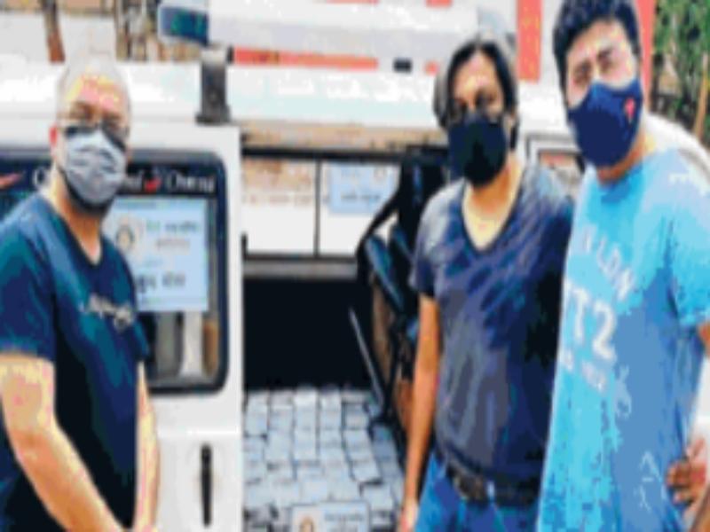 Gwalior News: रोटरी क्लब इंपीरियल अस्पतालों में अटेंडेंटों की निशुल्क कर रहा भाेजन की व्यवस्था