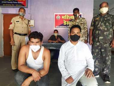 सोसायटी में धांधली का झांसा देकर रुपयों की मांग करने वाले दो गिरफ्तार