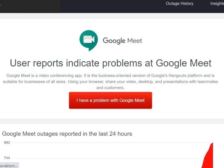 GMeet में तकनीकी खराबी, कहीं आवाज नहीं आ रही तो कहीं यूजर अपने-आप हो रहे लॉग आउट