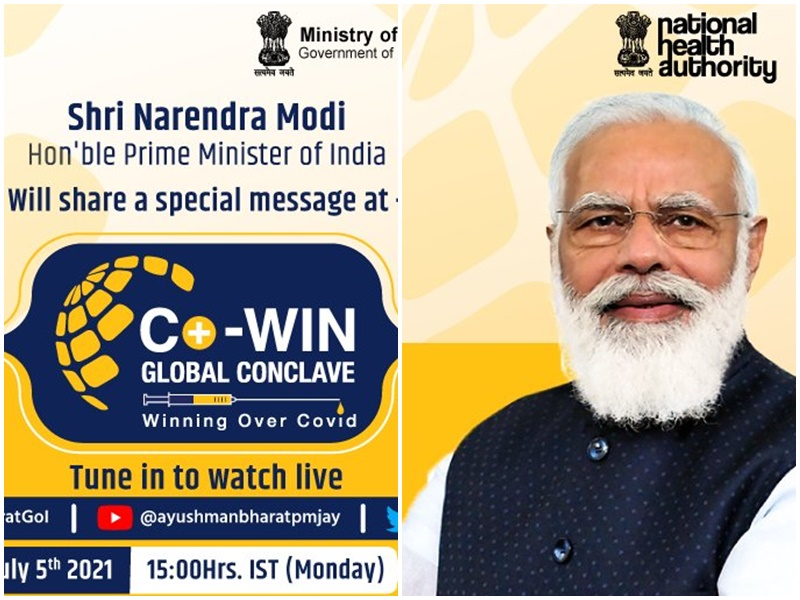 At CoWIN Global Conclave PM Modi said Vaccination is Best hope for humanity
