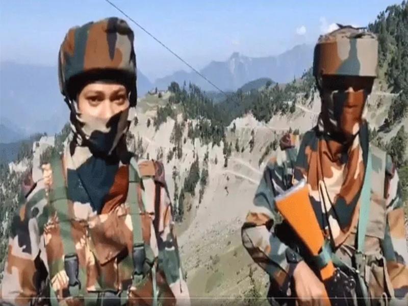 Rifle Women : LOC पर पहली बार रायफल वुमेन की तैनाती, घुसपैठ वाले 40 गांवों पर रखेगी नजर