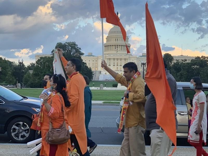 Ram Mandir Bhoomi Pujan : अयोध्या से वॉशिंगटन तक जश्न, Uma Bharti होंगी शामिल