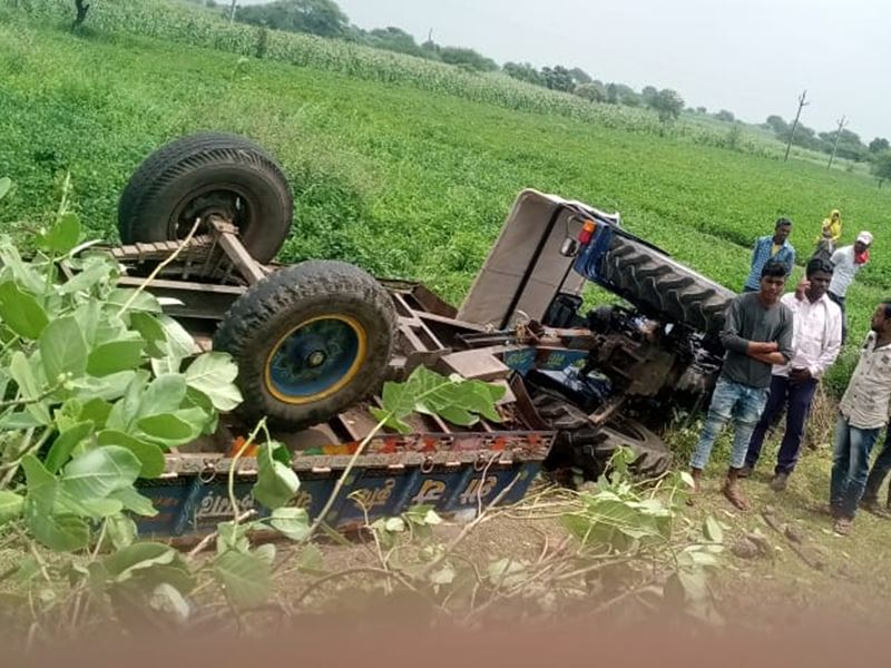 Accident in Jhabua: झाबुआ जिले में ट्रैक्टर ट्राली पलटने से 4 लोगों की मौत, 19 गंभीर घायल