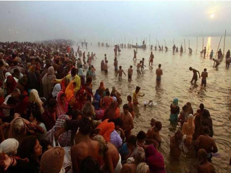 Ganga Snan Utsav begins   theindependentbd.com