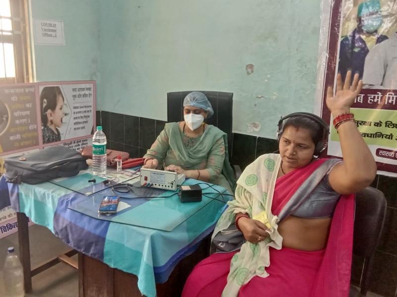 ENT Camp: धरसींवा में हुआ विशेष श्रवण जांच शिविर का आयोजन, 124 लोगों की हुई स्क्रीनिंग