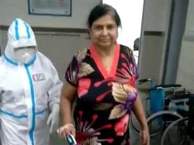 80 फीसद संक्रमित 56 वर्षीय सुनीता ने दी कोरोना को मात