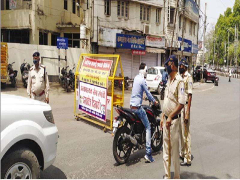 Gwalior Lockdown News: दोपहर तक सख्ती फिर गायब पुलिस, प्रतिष्ठान-दुकान रहे बंद, ट्रैफिक नहीं