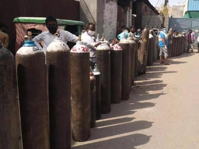 दिल्ली में खत्म होगा ऑक्सीजन का संकट, सिलेंडर की होम डिलिवरी करेगी सरकार