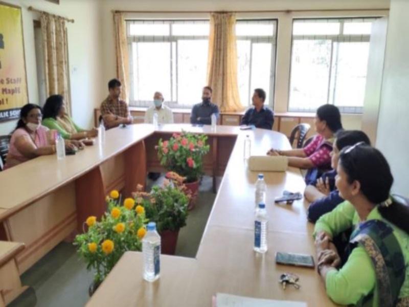 Bhopal news: बैरागढ़ में उठी शिक्षकों को कोरोना योद्धा घोषित करने की मांग