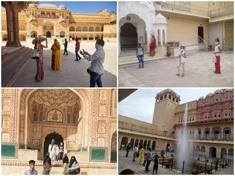 Rajasthan : अनलॉक की अच्छी शुरुआत, दो दिन में राजस्थान के पर्यटन स्थलों पर 1400 से ज्यादा लोग पहुंचे