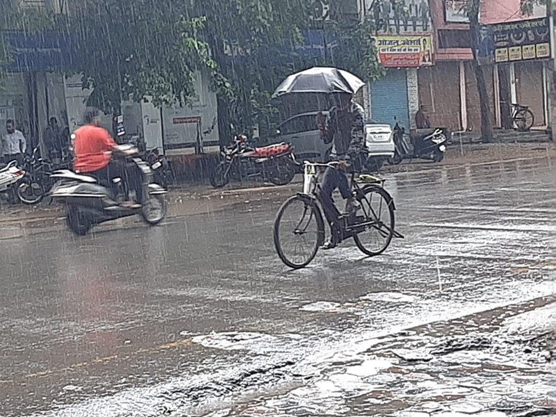 Chhattisgarh Weather Update : राज्य के 14 जिलों में हो सकती है तेज बारिश, यलो अलर्ट जारी
