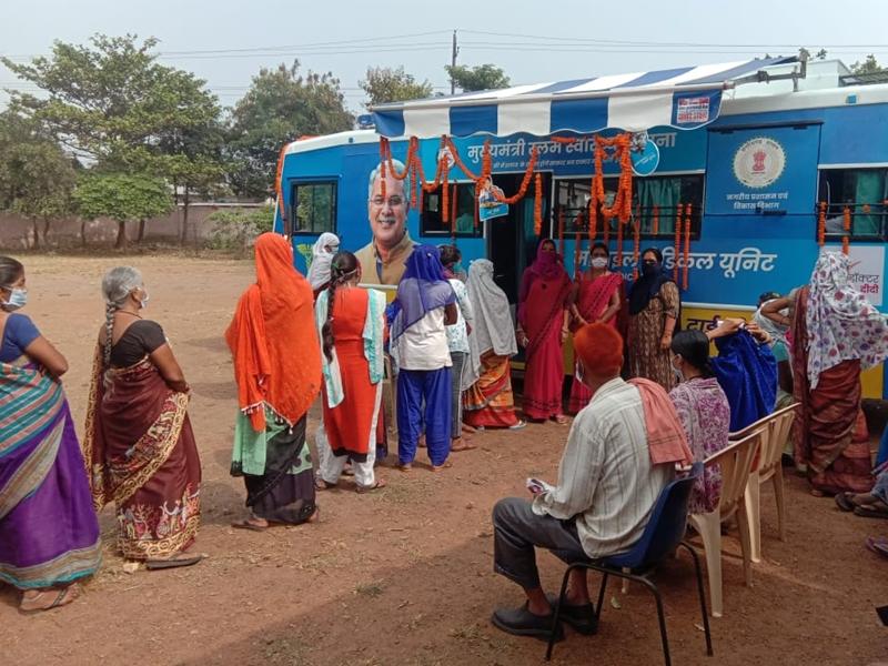 Mobile Medical Unit in Bilaspur: 98 प्रतिशत लोगों ने मोबाइल मेडिकल यूनिट को सराहा, दो प्रतिशत ने कहा- ठीक-ठाक