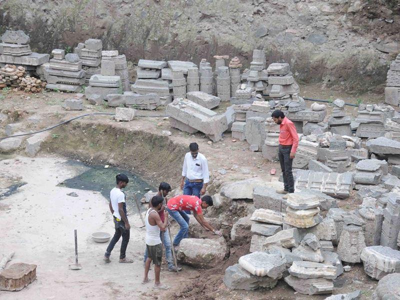 Mahakaleshwar Temple Ujjain: महाकाल मंदिर के समीप पुरातत्व विभाग ने फिर शुरू की खोदाई