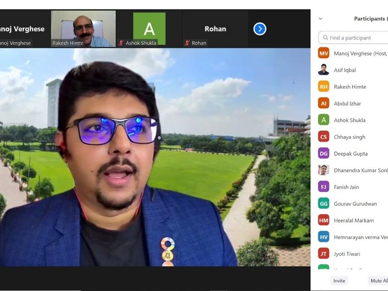 Startup In Bhilai: बांग्लादेश यूनिवर्सिटी के प्रोफेसर ने स्टार्टअप पर की भिलाई के स्टूडेंट्स से चर्चा, कहा- भारतीय कंपनियों से सीखते रहेंगे