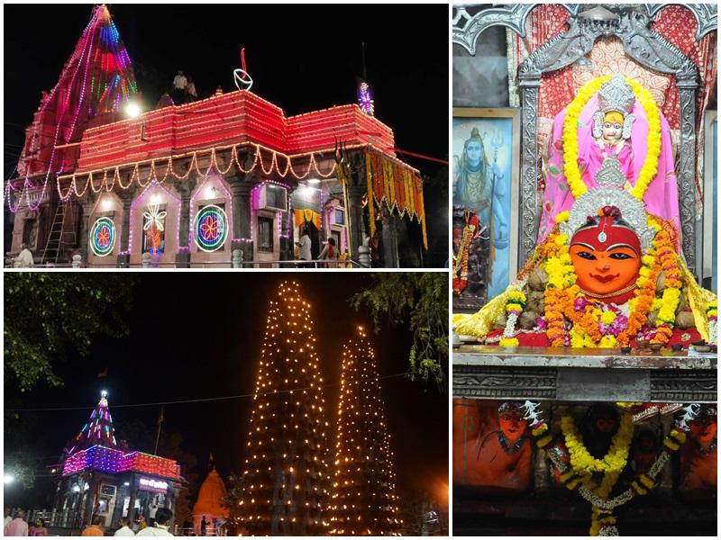 Sharadiya Navratri 2021: श्रीयंत्र पर विराजित हैं उज्जैन में देवी हरसिद्धि, इसलिये हैं प्रसिद्ध