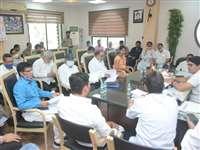 Municipal Corporation Raipur: मेयर एजाज ढेबर ने तुंहर सरकार, तुंहर द्वार कार्यक्रम की समीक्षा की