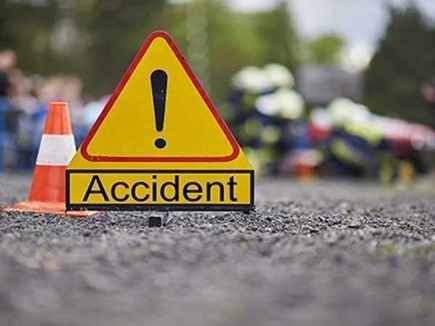 Balaghat Accident News : ट्रक ने स्कूटी को मारी टक्कर  गर्भवती महिला की मौत, पति घायल