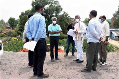 राताखार- गेरवाघाट रोड के दोनों तरफ लगाया जाएगा क्रेश बेरियर