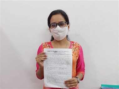 अंकिता को अनुकंपा नियुक्ति मिलने से संभला परिवार
