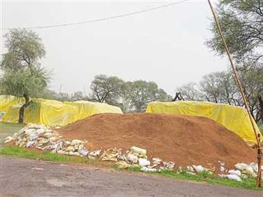 धमतरी जिले के उपार्जन केंद्रों में 74490 क्विंटल धान का उठाव नहीं