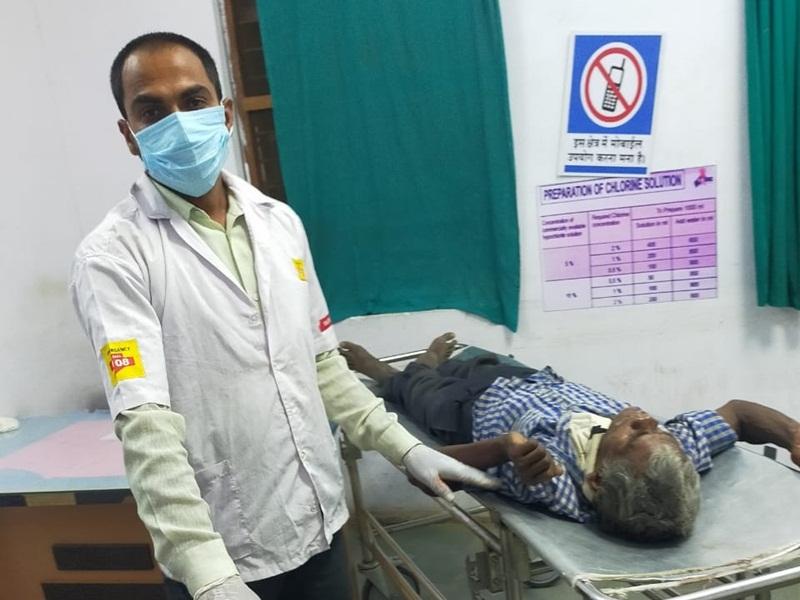 Anuppur Accident News : खड़े ट्रक से मोटरसाइकिल टकराई एक की मौत, एक गंभीर