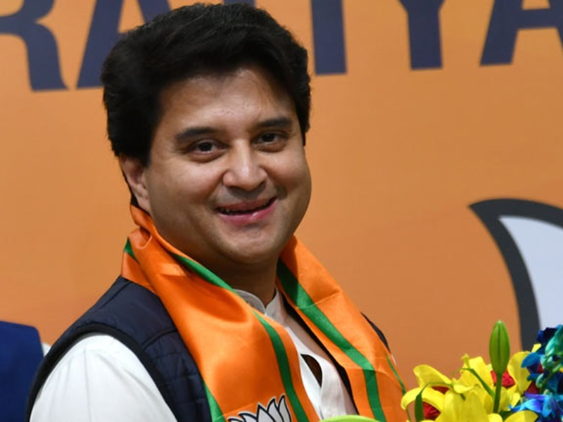 Jyotiraditya Scindia Profile First successful banker such is the political  journey till becoming a Union Minister