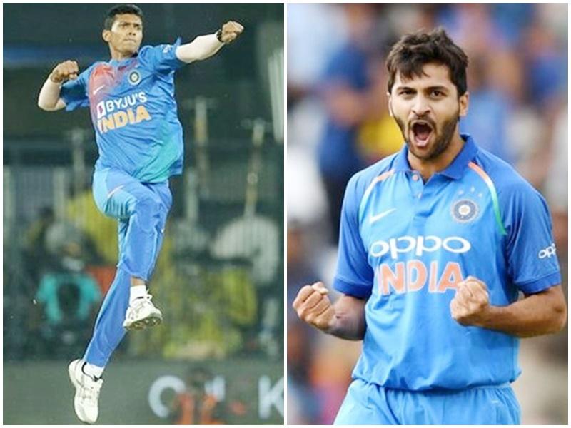 भारत बनाम श्रीलंका : जानिए टीम इंडिया के उभरते स्टार गेंदबाज Navdeep Saini और Shardul Thakur के बारे में