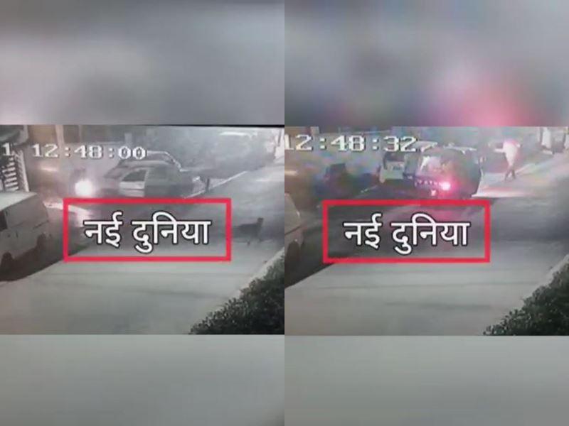 Naidunia Exclusive Video: भाजपा नेत्री के फरार बेटे पर 10 हजार रुपये का इनाम, मददगार और रिक्शा भी कैमरे में आया नजर
