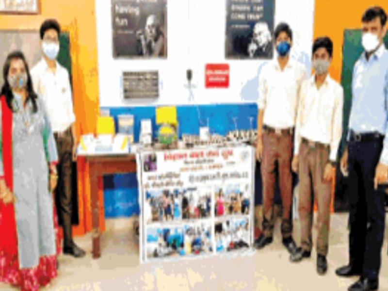 Gwalior Education News: विद्यार्थियों ने मॉडल तैयार कर दिया संक्रमण से सुरक्षित रहने का संदेश