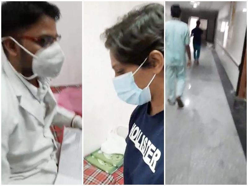 Remedesvir Injection Indore: सुपर स्पेशलिटी की नर्स का वीडियो हुआ वायरल, स्वजन का आरोप नर्स बेच रही थी 'रेमडेसिविर'