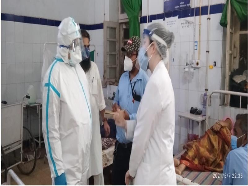Gwalior Enrgy Minister News:  ऊर्जा मंत्री पीपीई किट पहनकर पहुँचे कोविड मरीजों का हाल जानने