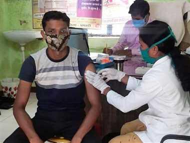 18 साल से अधिक के सभी वर्ग के लोगों का टीकाकरण शुरू