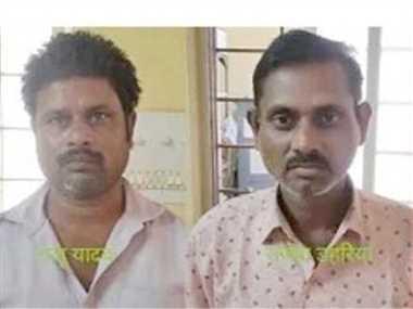 वध के लिए ले जा रहे मवेशियों के पांच तस्करों को पुलिस ने पकड़ा