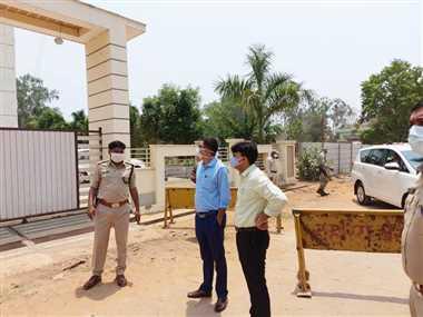 जगदलपुर में कंटेनमेंट जोन में ढिलाई से अधिकारी नाराज
